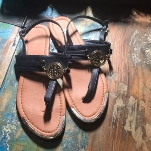 Cato thong sandals navy blue size 9 worn 2X 💙